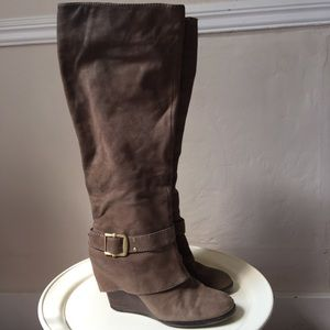 Vince Camuto Wedge Heel Tall Boots
